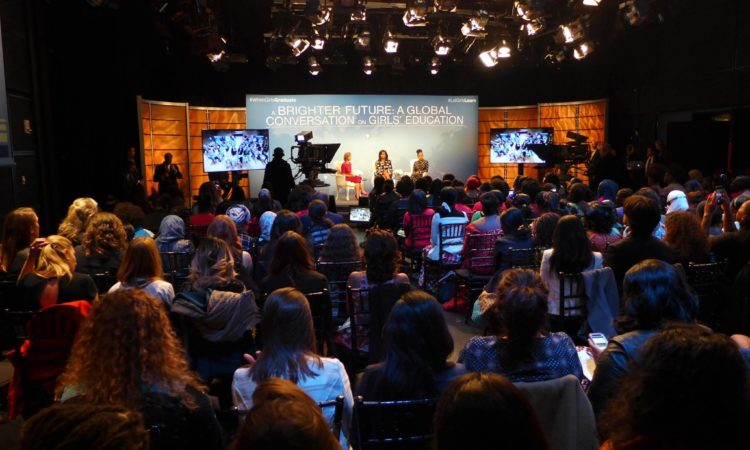 The White House's #LetGirlsLearn, celebrated the International Day of the Girl at the Newseum.