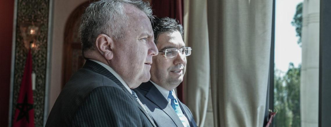 Deputy Secretary of State John J.Sullivan met with
