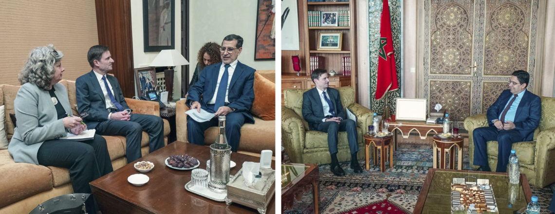 Under Secretary for Political Affairs, David Hale, visited Morocco on November 26